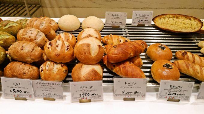 カウンターのパン5