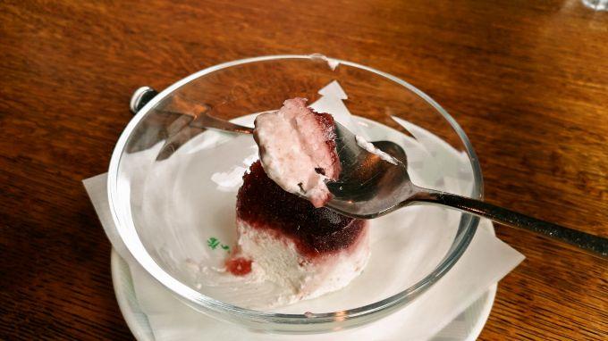山イチゴのアイス2