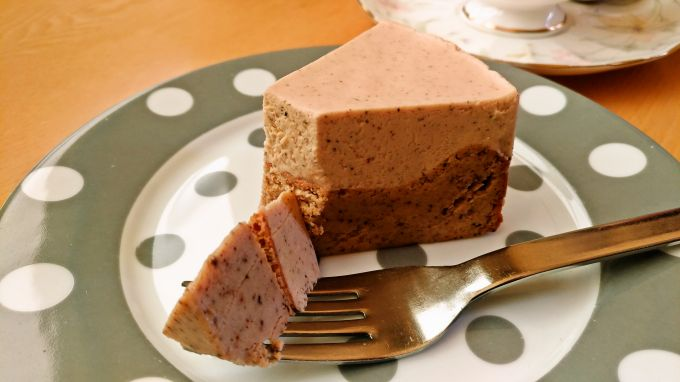二層のチーズケーキ2
